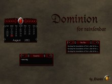 Dominion Rainlendar