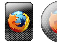 FireFox Carbonfiber (Round and Rectangular)