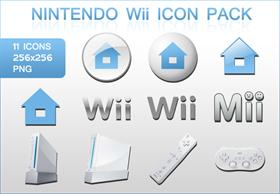 Nintendo Wii Icon Pack