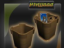 PlyWood Recycle Bin