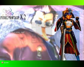 FF X auron and rikku