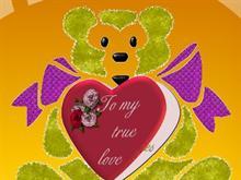 Bear Valintine Card