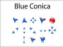 Blue Conica