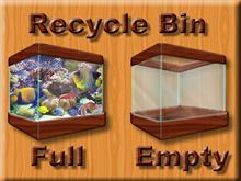 Fishy Recycle Bin