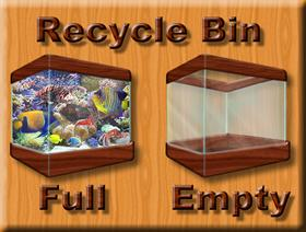 Fishy Recycle Bin