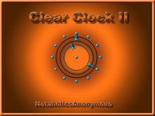 Clear Clock II