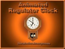 Animated Regulator Clock
