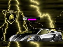 Complex Lightning Lamborborghini Logon
