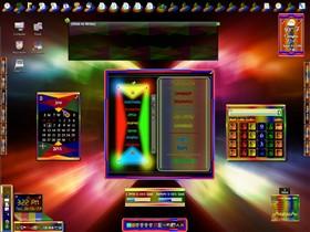 Liu-Iow DesktopX Theme