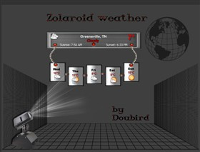 Zolaroid weather