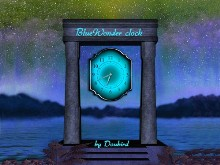 BlueWonder Clock