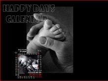 Happy Days Calendar