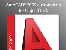 AutoCAD 2009 custom icon