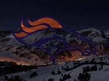 Broncos Snowing