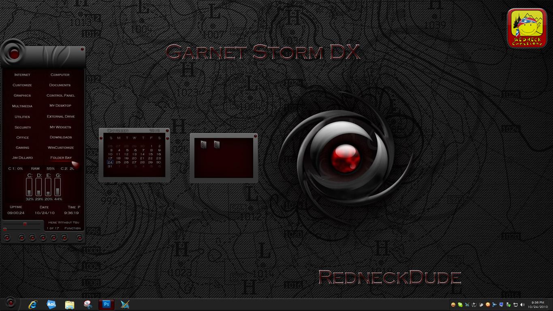 Garnet Storm Sidebar DX