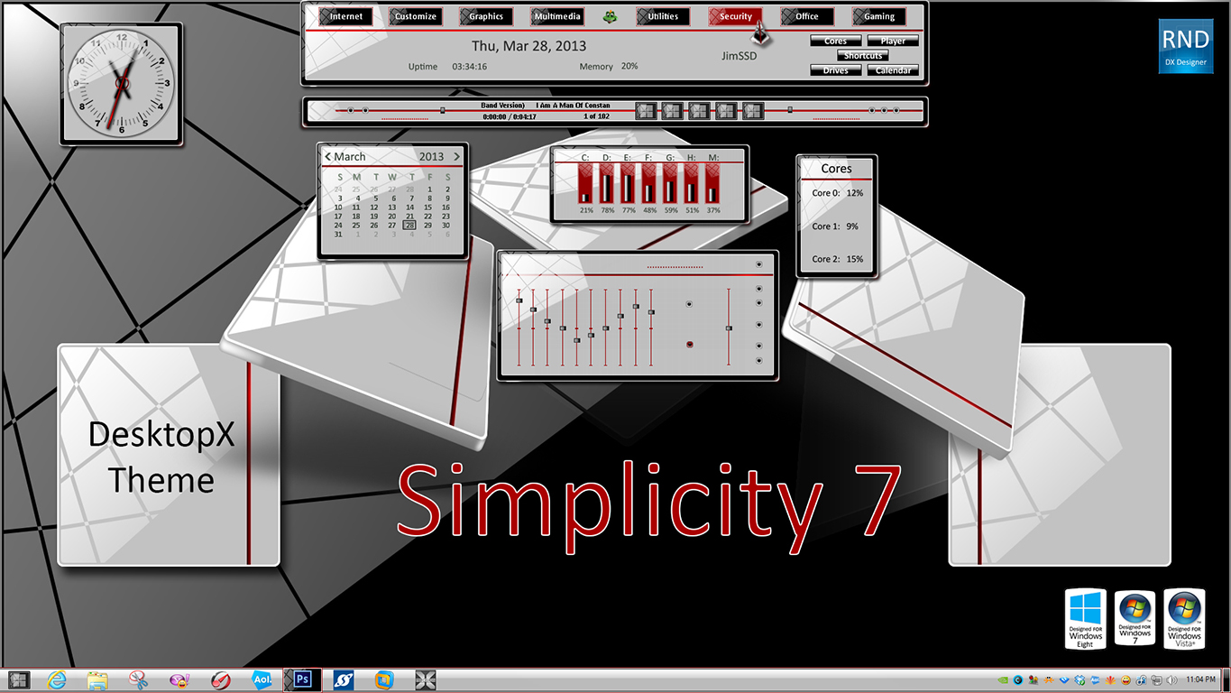 Simplicity 7 DX
