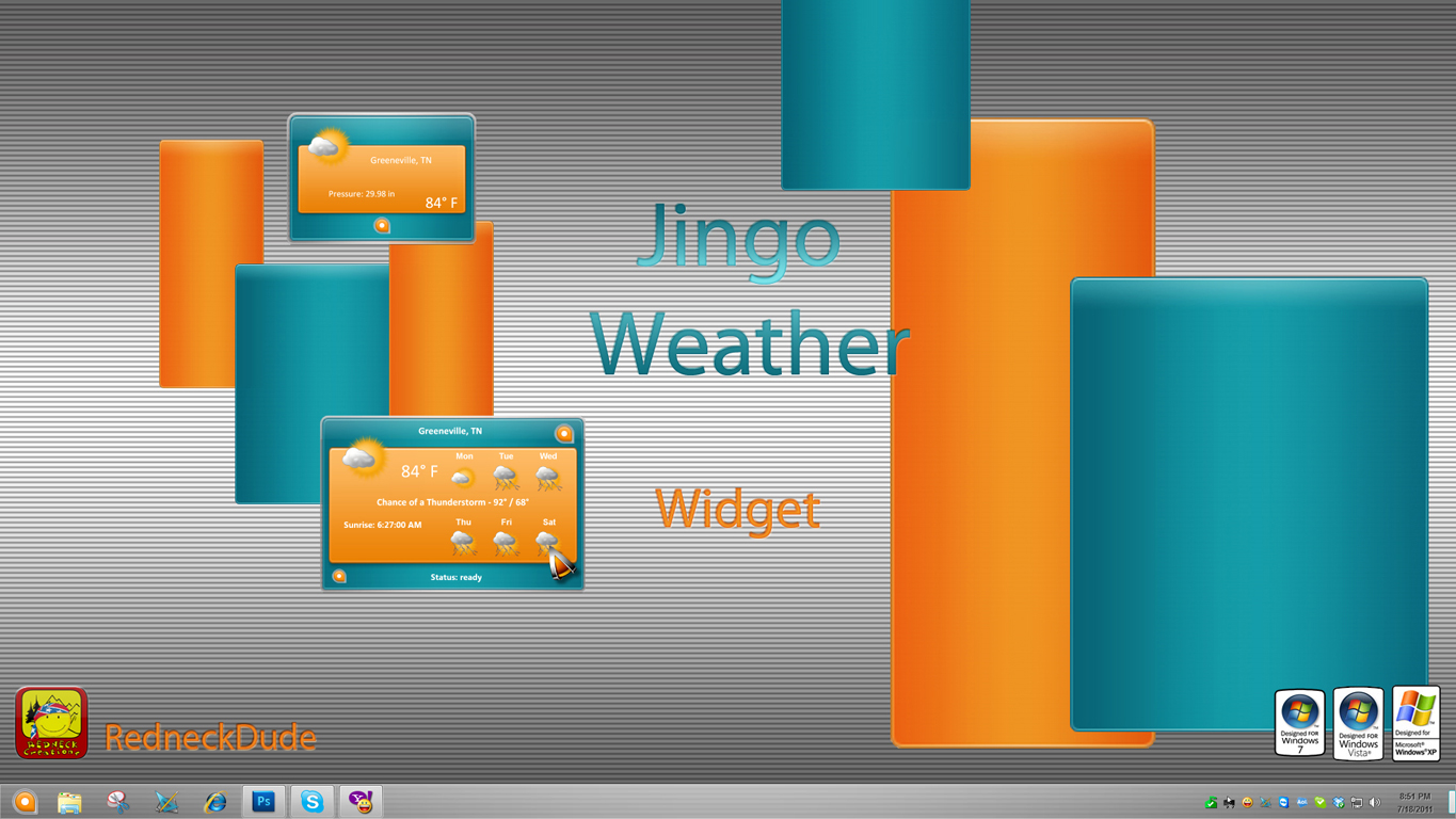 Jingo Weather Widget