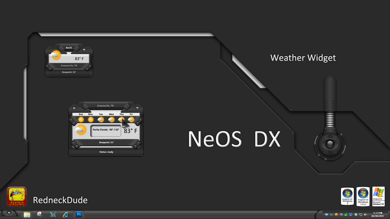 NeOS Weather Widget