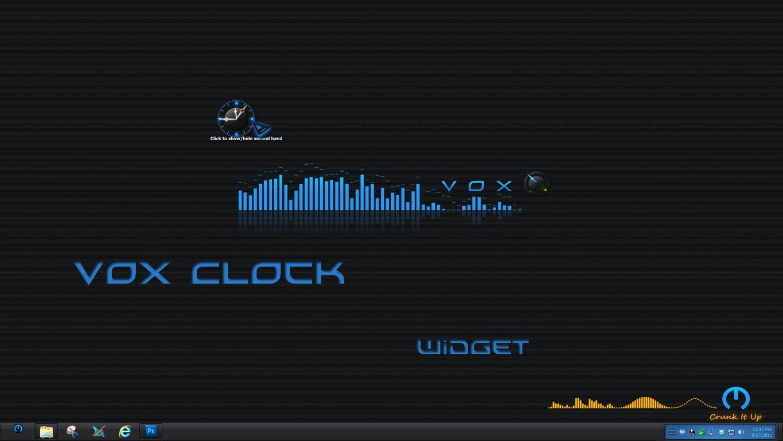 VOX Clock Widget