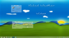 Naked Weather Widget