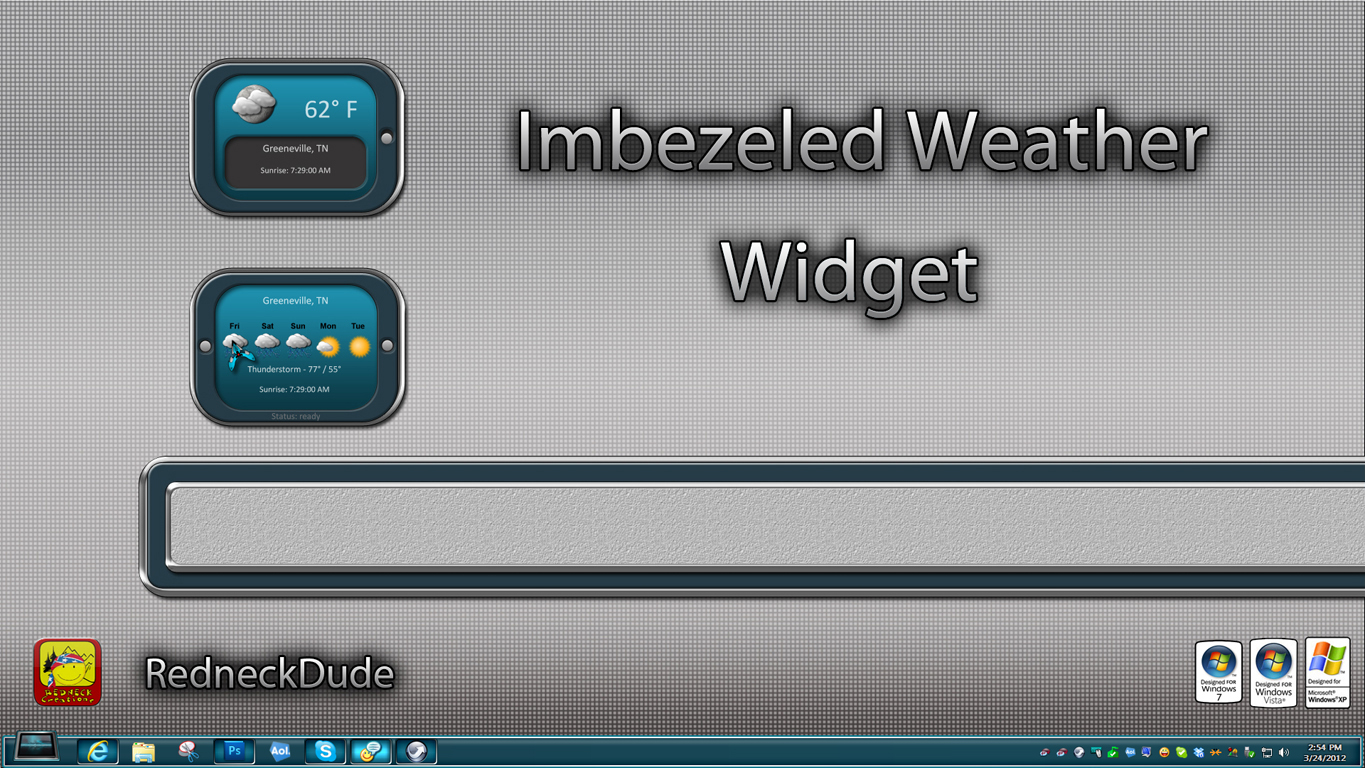 Imbezeled Weather Widget