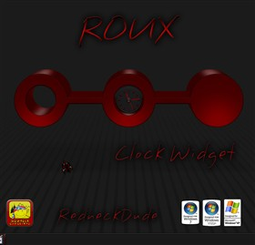 Roux Clock Widget