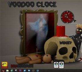 VooDoo Clock Widget