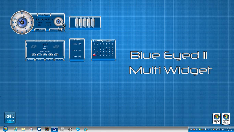 Blue Eyed II Multi Widget
