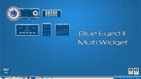 Blue Eyed II Multi Widget