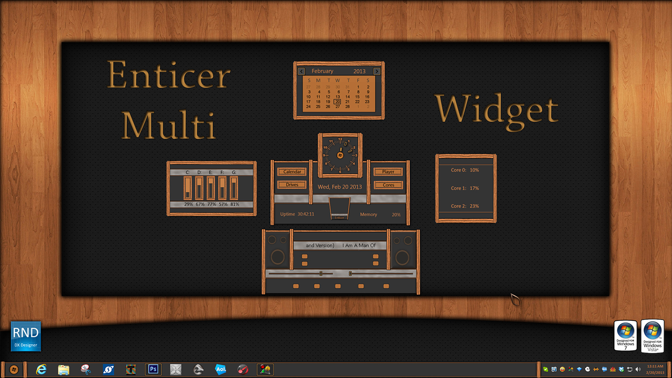Enticer Multi Widget