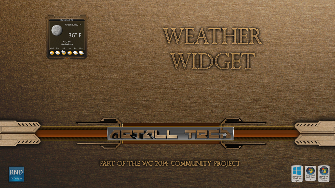 Metall Tech Weather Widget