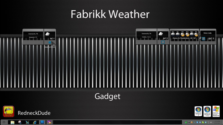 Fabrikk Weather Gadget