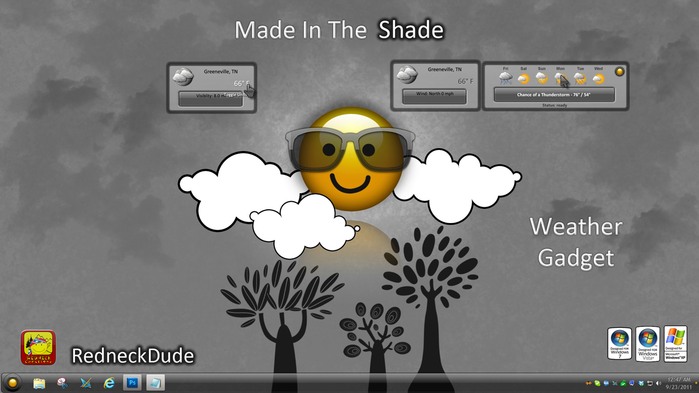 Made In The Shade Weather Gadget