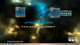Andromeda Weather Gadget