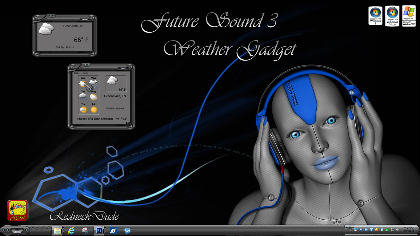 Future Sound 3 Weather Gadget