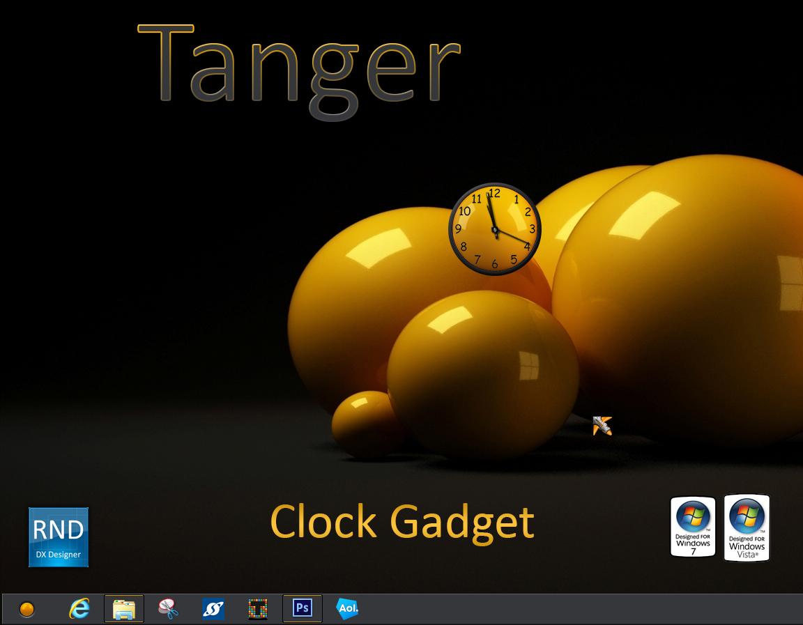 Tanger Clock Gadget