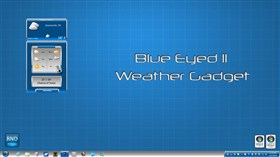 Blue Eyed II Weather Gadget