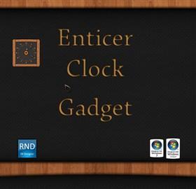 Enticer Clock Gadget