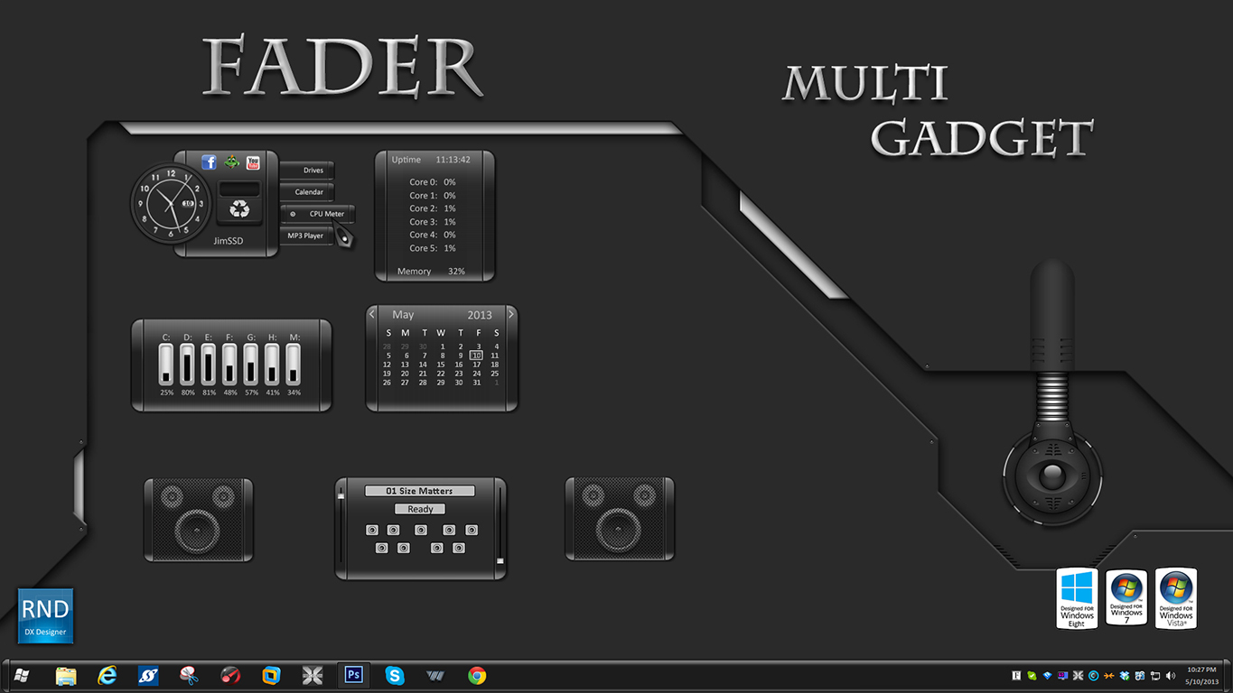 Fader Multi Gadget