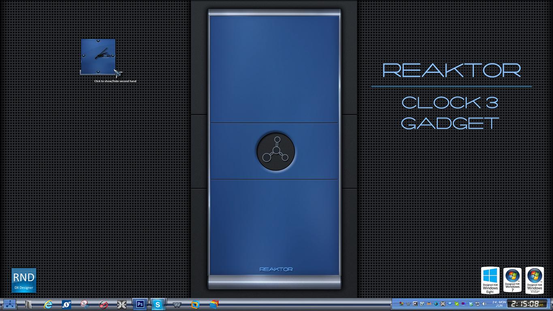 Reaktor Clock 3 Gadget