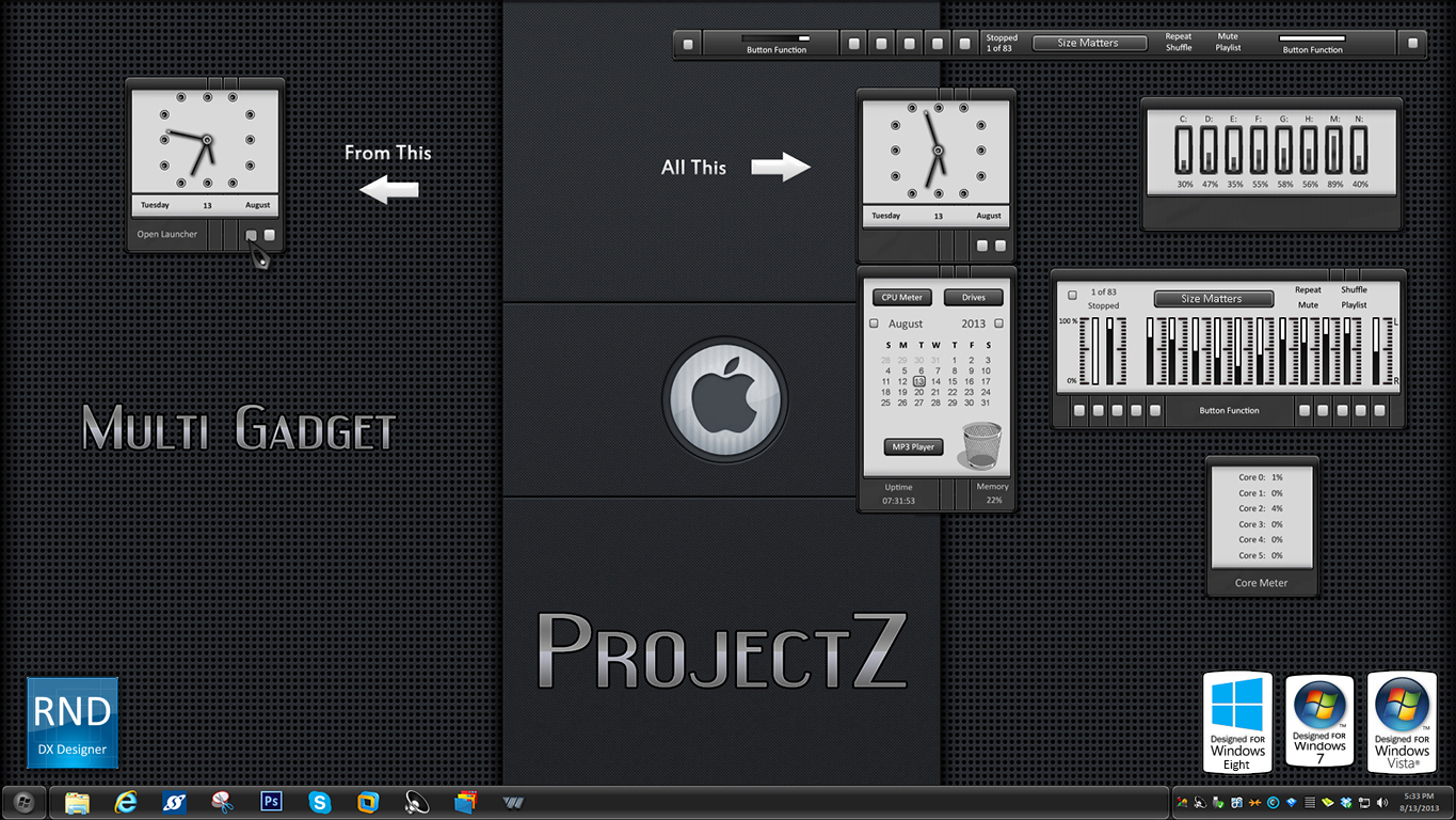 ProjectZ Multi Gadget