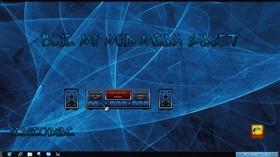 Blue My Mind Media Player Gadget