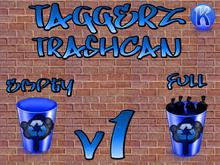 Taggerz Trash Can