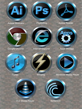 Media Icons v6