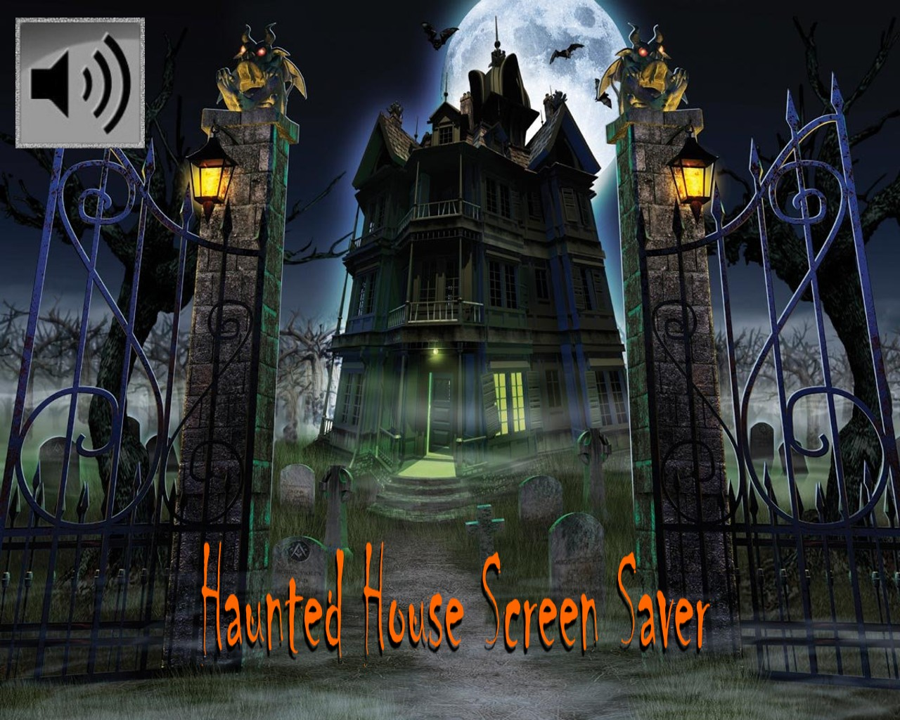 haunted house wallpaper with sound - photo #2