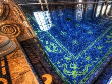 HDR Hearst Castle Indoor Pool