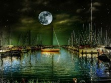 Harbor Moon