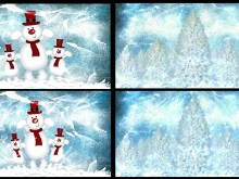 Snowman Winter Wall Pack