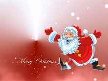 4K Christmas Santa