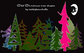 The Odd Christmas trees